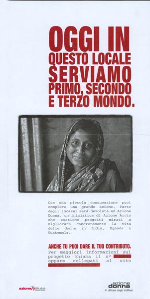 Azione Aiuto - Campagna fundraising 2002